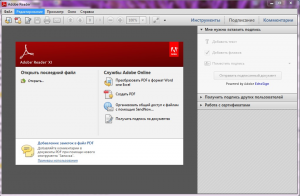 Adobe (Acrobat) Reader